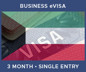 United Kingdom Single Entry Business eVisa For Kuwait (3 Month 90 Day)