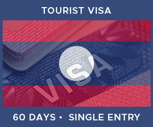 United Kingdom Single Entry Tourist Visa For Laos (60 Day 30 Day)