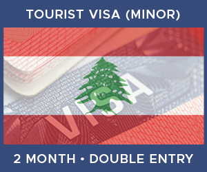 United Kingdom Double Entry Minor Visa For Lebanon (2 Month 60 Day)
