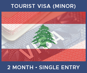 United Kingdom Single Entry Minor Visa For Lebanon (2 Month 60 Day)