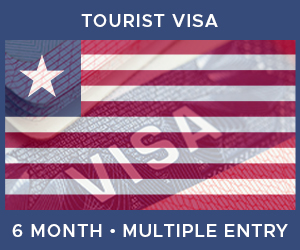 United Kingdom Multiple Entry Tourist Visa For Liberia (6 Month 30 Day)