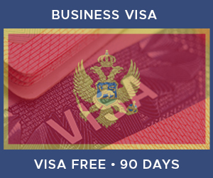 United Kingdom Business Visa For Montenegro (90 Day Visa Free Period)
