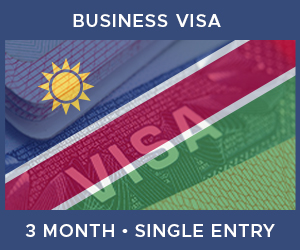 United Kingdom Single Entry Business Visa For Namibia (3 Month 90 Day)