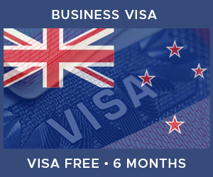 United Kingdom Business Visa For New Zealand (6 Month Visa Free Period)