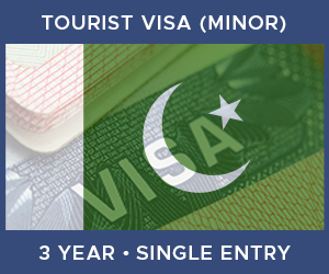 United Kingdom Single Entry Minor Visa For Pakistan (3 Year 30 Day)