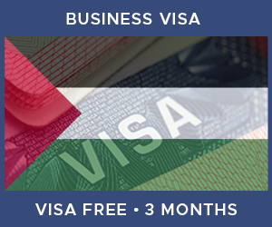 United Kingdom Business Visa For Palestine (3 Month Visa Free Period)