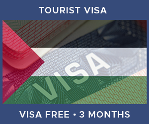 United Kingdom Tourist Visa For Palestine (3 Month Visa Free Period)