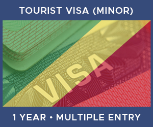 United Kingdom Multiple Entry Minor Visa For Republic of the Congo (1 Year 30 Day)