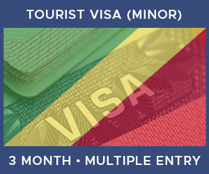United Kingdom Multiple Entry Minor Visa For Republic of the Congo (3 Month 30 Day)