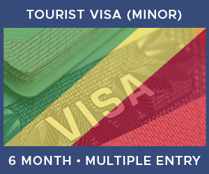 United Kingdom Multiple Entry Minor Visa For Republic of the Congo (6 Month 30 Day)
