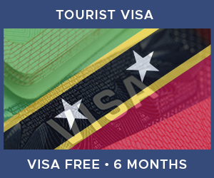 United Kingdom Tourist Visa For Saint Kitts and Nevis (6 Month Visa Free Period)