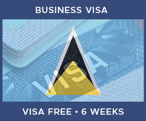 United Kingdom Business Visa For Saint Lucia (6 Week Visa Free Period)