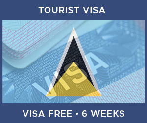 United Kingdom Tourist Visa For Saint Lucia (6 Week Visa Free Period)