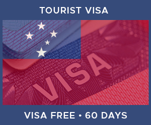 United Kingdom Tourist Visa For Samoa (60 Day Visa Free Period)
