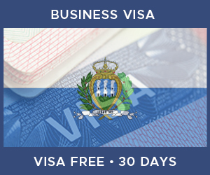 United Kingdom Business Visa For San Marino (30 Day Visa Free Period)