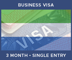 United Kingdom Single Entry Business Visa For Sierra Leone (3 Month 90 Day)