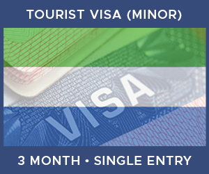 United Kingdom Single Entry Minor Visa For Sierra Leone (3 Month 90 Day)