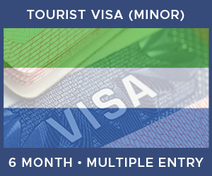 United Kingdom Multiple Entry Minor Visa For Sierra Leone (6 Month 90 Day)