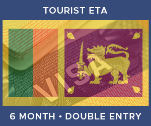 United Kingdom Double Entry Tourist ETA eVisa For Sri Lanka (6 Month 30 Day)