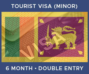 United Kingdom Double Entry Minor Visa For Sri Lanka (6 Month 90 Day)