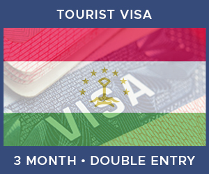 United Kingdom Double Entry Tourist Visa For Tajikistan (3 Month 90 Day)