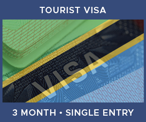 United Kingdom Single Entry Tourist Visa For Tanzania (3 Month 90 Day)
