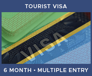 United Kingdom Multiple Entry Tourist Visa For Tanzania (6 Month 90 Day)