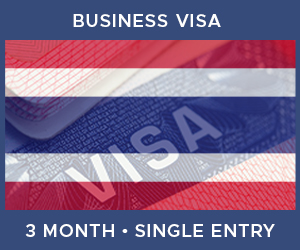 United Kingdom Single Entry Business Visa For Thailand (3 Month 60 Day)
