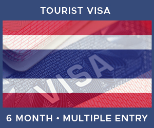 United Kingdom Multiple Entry Tourist Visa For Thailand (6 Month 60 Day)