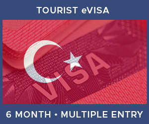 United Kingdom Multiple Entry Tourist eVisa For Turkey (6 Month 90 Day)