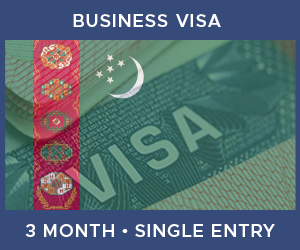 United Kingdom Single Entry Business Visa For Turkmenistan (3 Month 90 Day)