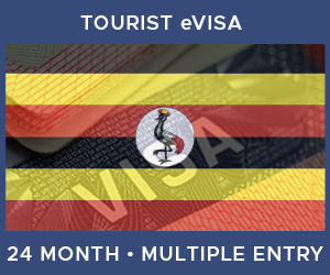 United Kingdom Multiple Entry Tourist eVisa For Uganda (24 Month 90 Day-Decided On Arrival)