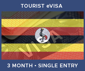 United Kingdom Single Entry Tourist eVisa For Uganda (3 Month 90 Day-Decided On Arrival)