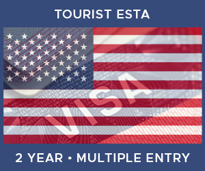 United Kingdom Multiple Entry Tourist ESTA For United States (2 Year 90 Day)