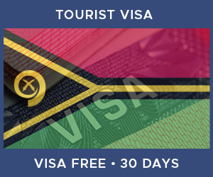 United Kingdom Tourist Visa For Vanuatu (30 Day Visa Free Period)