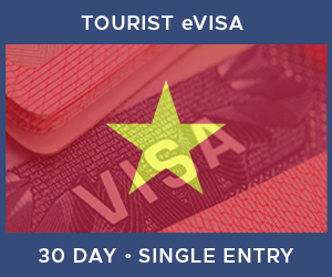 United Kingdom Single Entry Tourist eVisa For Vietnam (30 Day 30 Day)