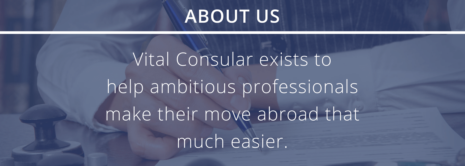 Vital Consular About Us