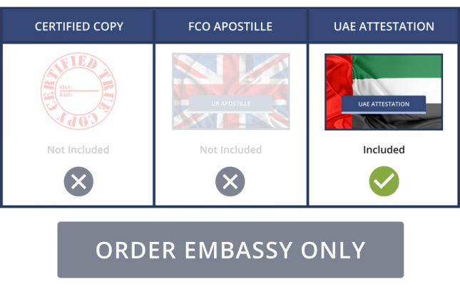 UAE Embassy Only