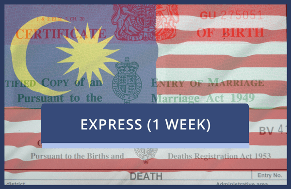 Malaysian Embassy Only - Express
