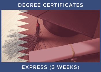 Qatar Degree Legalisation Inc Certification - Express