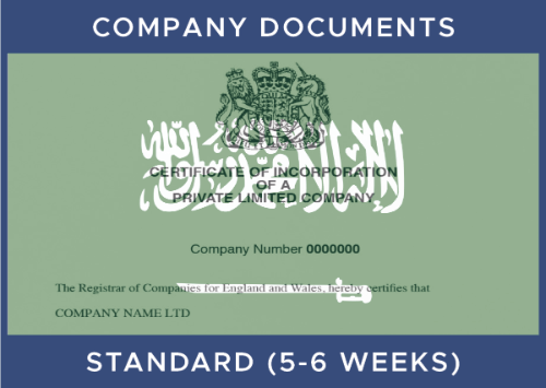 Saudi Commercial Document - Standard