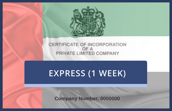 UAE Attestation Only, Commercial (1 Week)