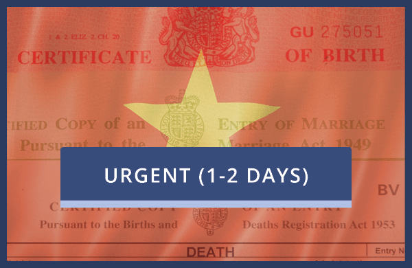 Vietnam Embassy Only - Urgent