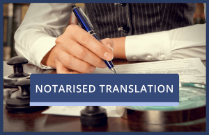 Notarised Translation